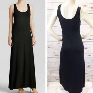 Vince Black Sleeveless Maxi Dress Sz S ::J16